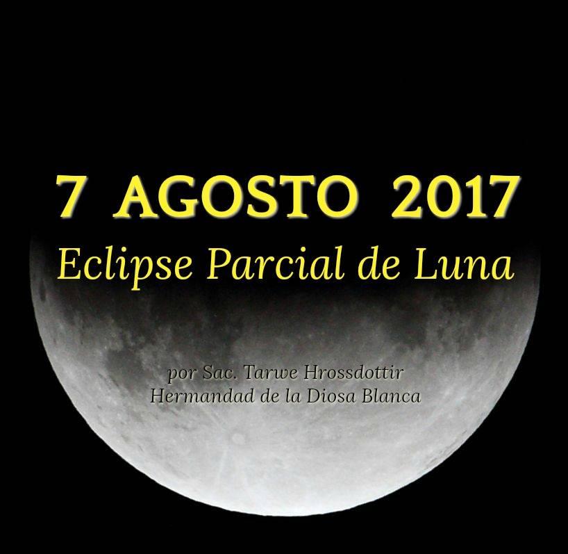 Eclipse 7 Agosto 2017 - Parcial de Luna en Acuario