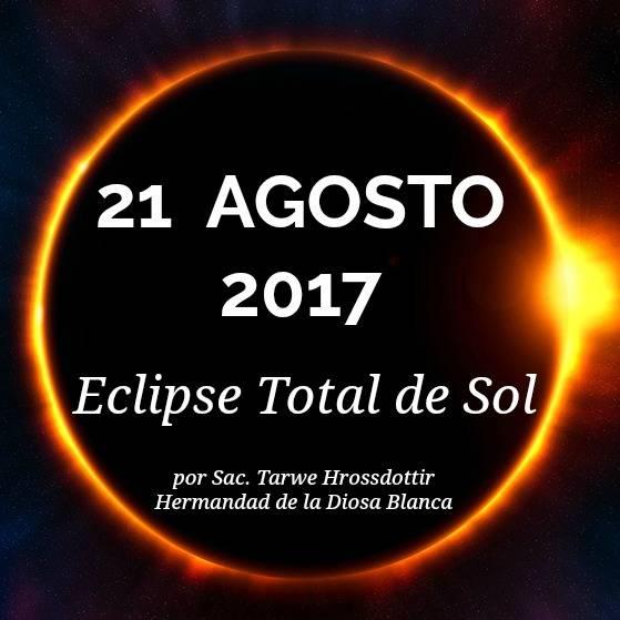 Predicciones del Eclipse Total de Sol en Agosto de 2017