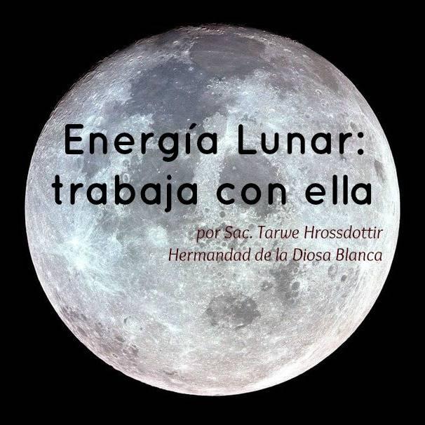 Cómo trabajar con la energía lunar