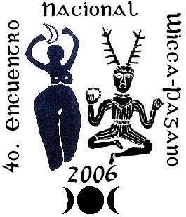 Logotipo del 4o. Encuentro Nacional Wicca-Pagano en México